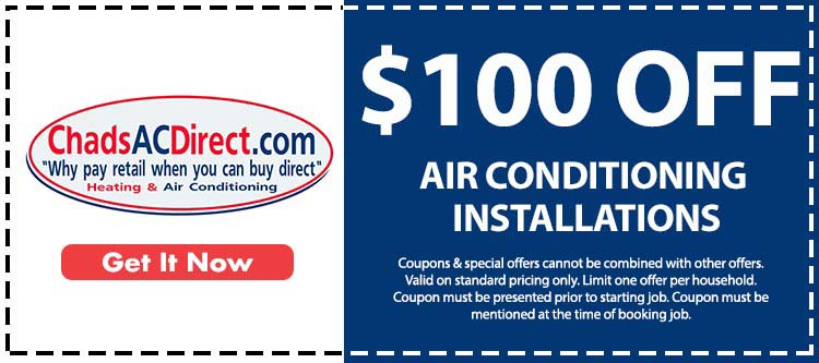 discount on air conditioner installation services