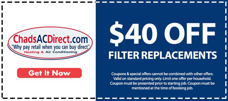discount on air conditioner filter replacement