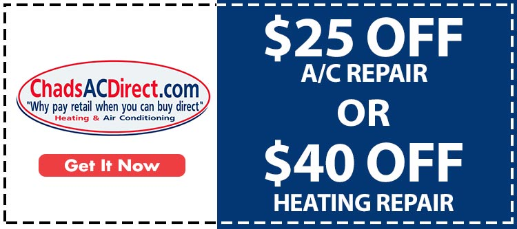 discounts on heating and air conditioner services