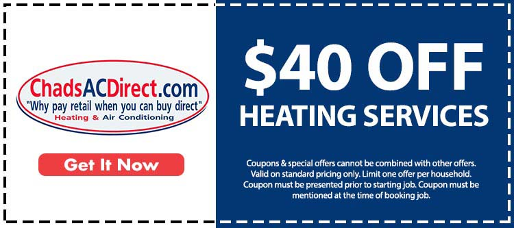 discount on heating services